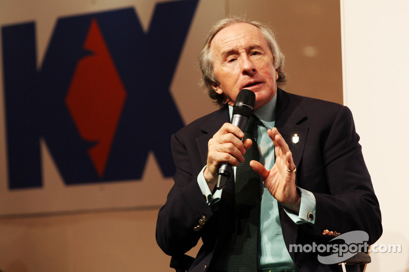 Jackie Stewart, on the Autosport Stage