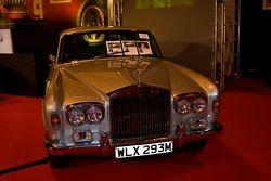 Freddie Mercurys Rolls Royce for sale at the Coys Vintage Car Auction