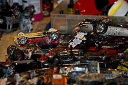 Motorsport Artist uses Model Cars to Paint