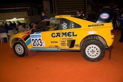 Peugeot Dakar rally car