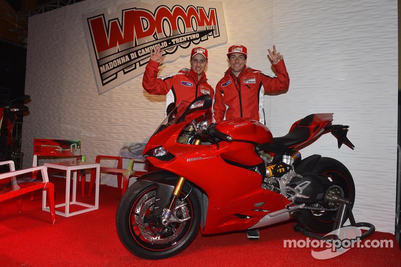 Andrea Dovizioso and Nicky Hayden, Ducati Marlboro Team