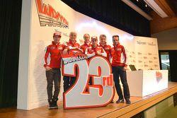 Het Ducati team