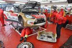 Sébastien Loeb, Citroën DS3 WRC, Citroën Total Abu Dhabi World Rally Team