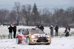 Sébastien Loeb et Daniel Elena, Citroën DS3 WRC, Citroën Total Abu Dhabi World Rally Team
