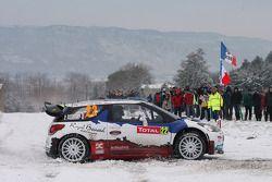 Bryan Bouffier and Xavier Panseri, Citroen DS3 WRC