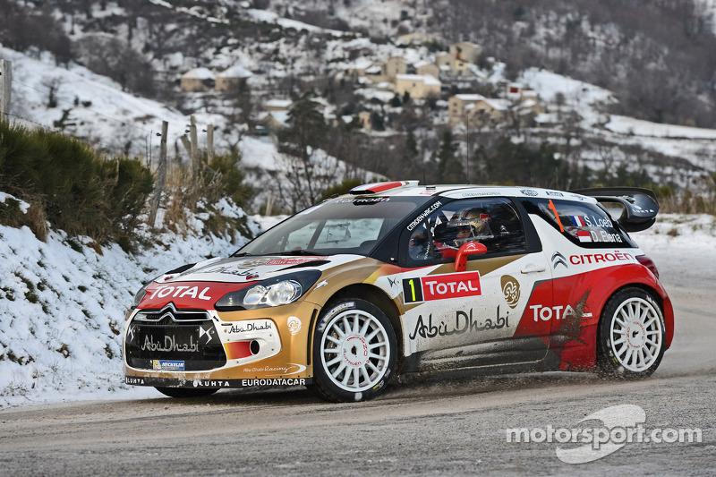 2013 - Septième victoire de Loeb : Citroën DS3 WRC