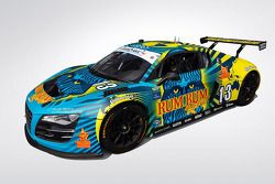 New paint-scheme para o Rum Bum Racing Audi R8
