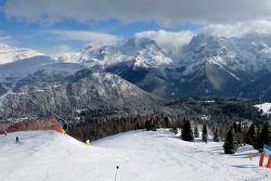 De fraaie bergen van Trentino