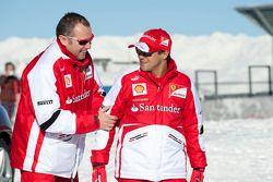 Felipe Massa, Scuderia Ferrari con Stefano Domenicali