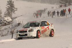 Carlo Covi en Giorgio Campesan, Subaru Impreza