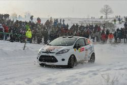 Sylvain Droxler en Agnes Eicher, Ford Fiesta R2