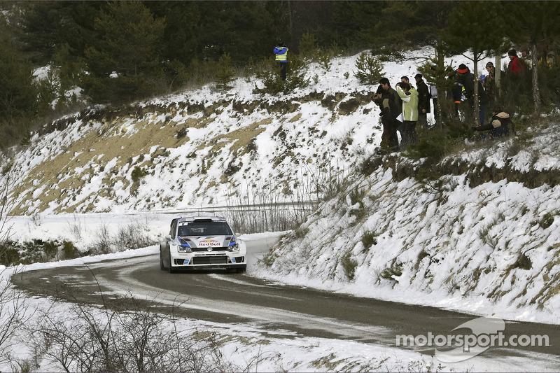 Monte-Carlo 2013 : 1er rallye avec Volkswagen