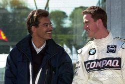 Dr. Mario Theissen, head, BMW Motorsport ve Ralf Schumacher