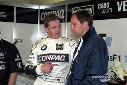 Ralf Schumacher ve Gerhard Berger