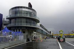 Nürburgring pits