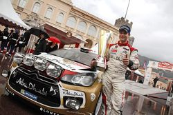 Podium: Sébastien Loeb, Citroën Total Abu Dhabi World Rally Team