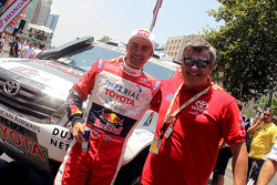 Car second place Giniel de Villiers