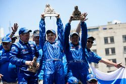 Truck Winnaars Eduard Nikolaev, Sergey Savostin, Vladimir Rybakov