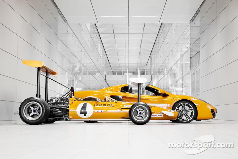 McLaren отмечает 50-летие, Особое мероприятие.