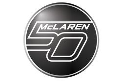 McLaren'in 50th anniversary logo
