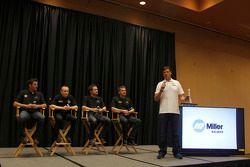 Martin Truex Jr., Mark Martin, Brian Vickers, Clint Bowyer, Michael Waltrip, Michael Waltrip Racing