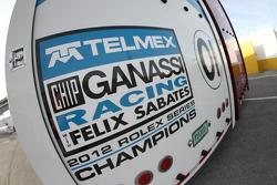 Chip Ganassi Racing com Felix Sabates; transportador