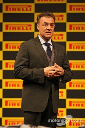Жан Алези. Презентация шин Pirelli 2013 года, Презентация.