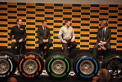 Les pneus sont dévoilés