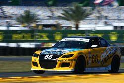 #66 Riley Racing Mazda RX-8: A.J. Riley, Jameson Riley