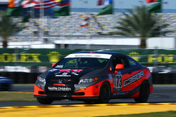 #73 Compass360 Racing Honda Civic SI: Ted Anthony Jr., Andrew Newell