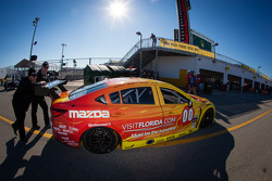#00 Visit Florida Racing Speedsource Yellow Dragon Mazda6 GX