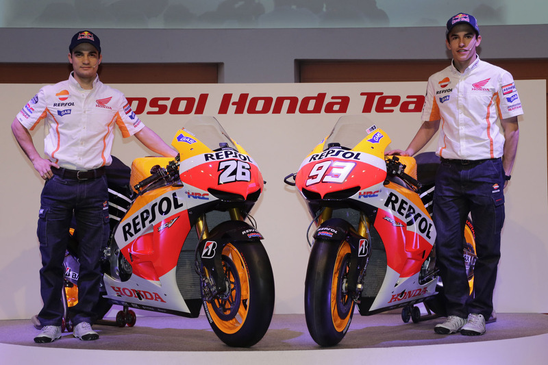 2013 - Il devient pilote Repsol Honda