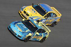 #96 Turner Motorsport BMW M3 Coupe: Bill Auberlen, Paul Dalla Lana en #13 Rum Bum Racing Porsche 997