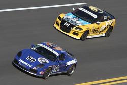#50 Berg Racing Porsche Boxter: David Quinlan, John Weisberg e #66 Riley Racing Mazda RX-8: A.J. Ril