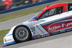 #9 Action Express Racing Corvette DP: Joao Barbosa, Mike Rockenfeller, Brian Frisselle, Burt Frissel