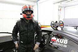 Robert Kubica teste la Mercedes DTM
