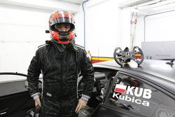 Robert Kubica testet einen Mercedes-DTM-Boliden