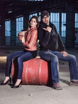 Cyndie Allemann and Alex Wesselsky star in Auftrag Auto