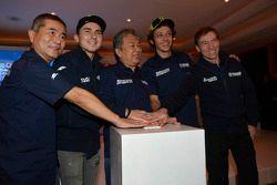 Valentino Rossi en Jorge Lorenzo, Yamaha Factory Team