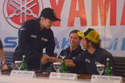 Valentino Rossi e Jorge Lorenzo, Yamaha Fatory Team