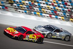 #24 Auto Gallery Ferrari 458: Carlos Kauffmann e #777 Ferrari Quebec Ferrari 458: Emmanuel Anassis