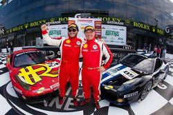 #24 Auto Gallery Ferrari 458: Carlos Kauffmann, Coppa Shell et #85 Auto Gallery Ferrari 458: John Farano
