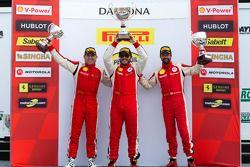 Pódio da Coppa Shell: vencedor Carlos Kauffmann