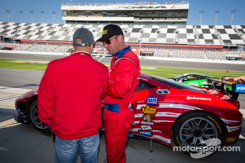 Rui Aguas e Clint Bowyer