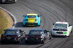#6 Mitchum Motorsports Camaro GS.R: Lawrence Davey, Mike Skeen, #01 CKS Autosport Camaro GS.R: Lawso