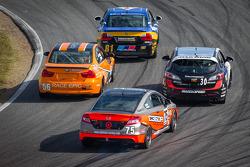 #81 BimmerWorld Racing BMW 328i: Tyler Cooke, Gregory Liefooghe, #56 RACE EPIC/ Murillo Racing BMW 3