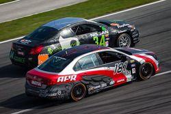 #181 APR Volkswagen Jetta: Diego Duez, Aleks Altberg, #34 Skullcandy Team Nissan Altima Coupe: Vesko