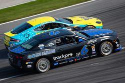 #6 Mitchum Motorsports Camaro GS.R: Lawrence Davey, Mike Skeen, #140 Automatic Racing Aston Martin V