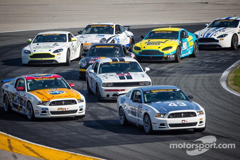 #43 BTE Sport Mustang Boss 302R GT: Emmanuel Anassis, Alain Desrochers, Anthony Massari