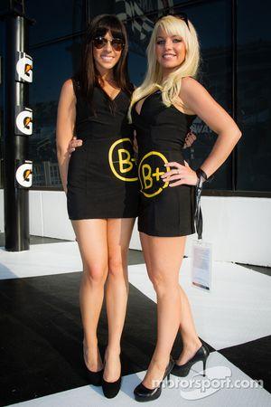 Les B+ girls